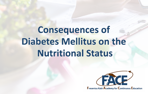 Consequences of Diabetes Mellitus on Nutritional Status
