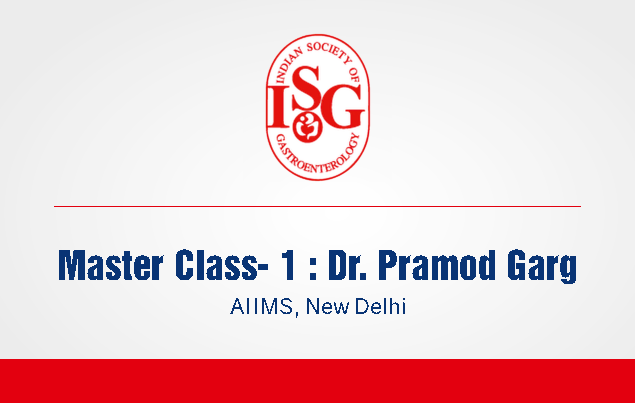 ISG Master Class 1: Stepwise Management of Acute Pancreatitis