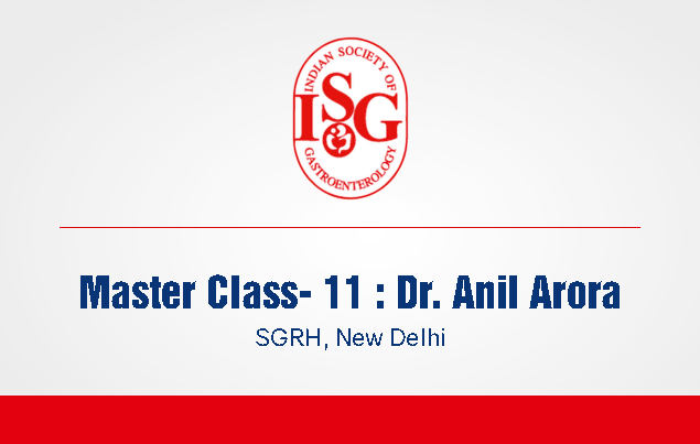 ISG Master Class 11: Management of HCC