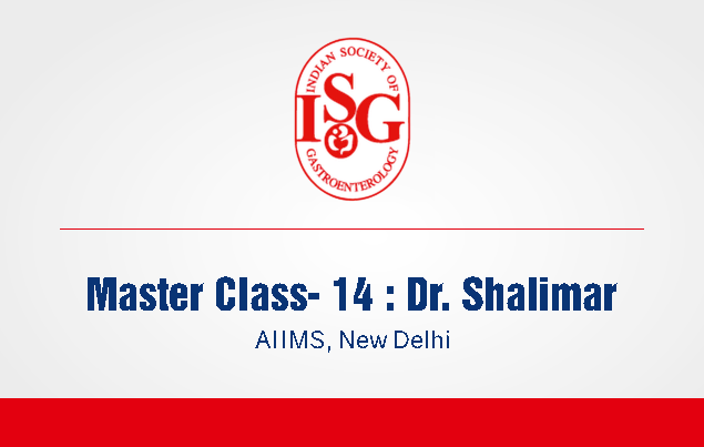 ISG Master Class 13: Approach to a Patient with Dyspesia