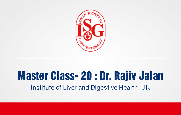 ISG Master Class 20: Newer Concept in the Pathogenesis & Management in ACLF