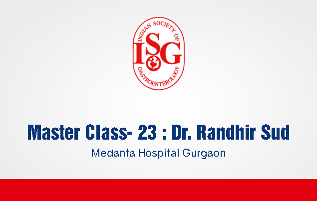 ISG Master Class 23: Diagnosis and Management of Biliary Stricture
