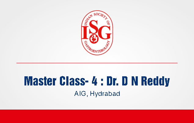 ISG Master Class 4: Learning Endoscopic Skills : Mantra for the Beginners