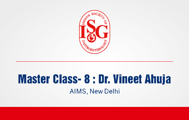 ISG Master Class 8: Management of Crohn's Disease