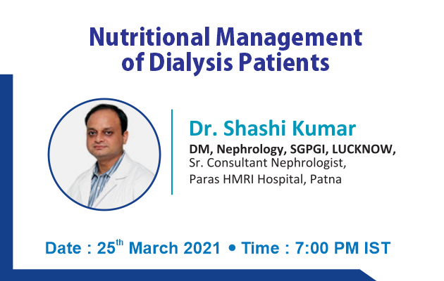 Nutritional Management of Dialysis Patients