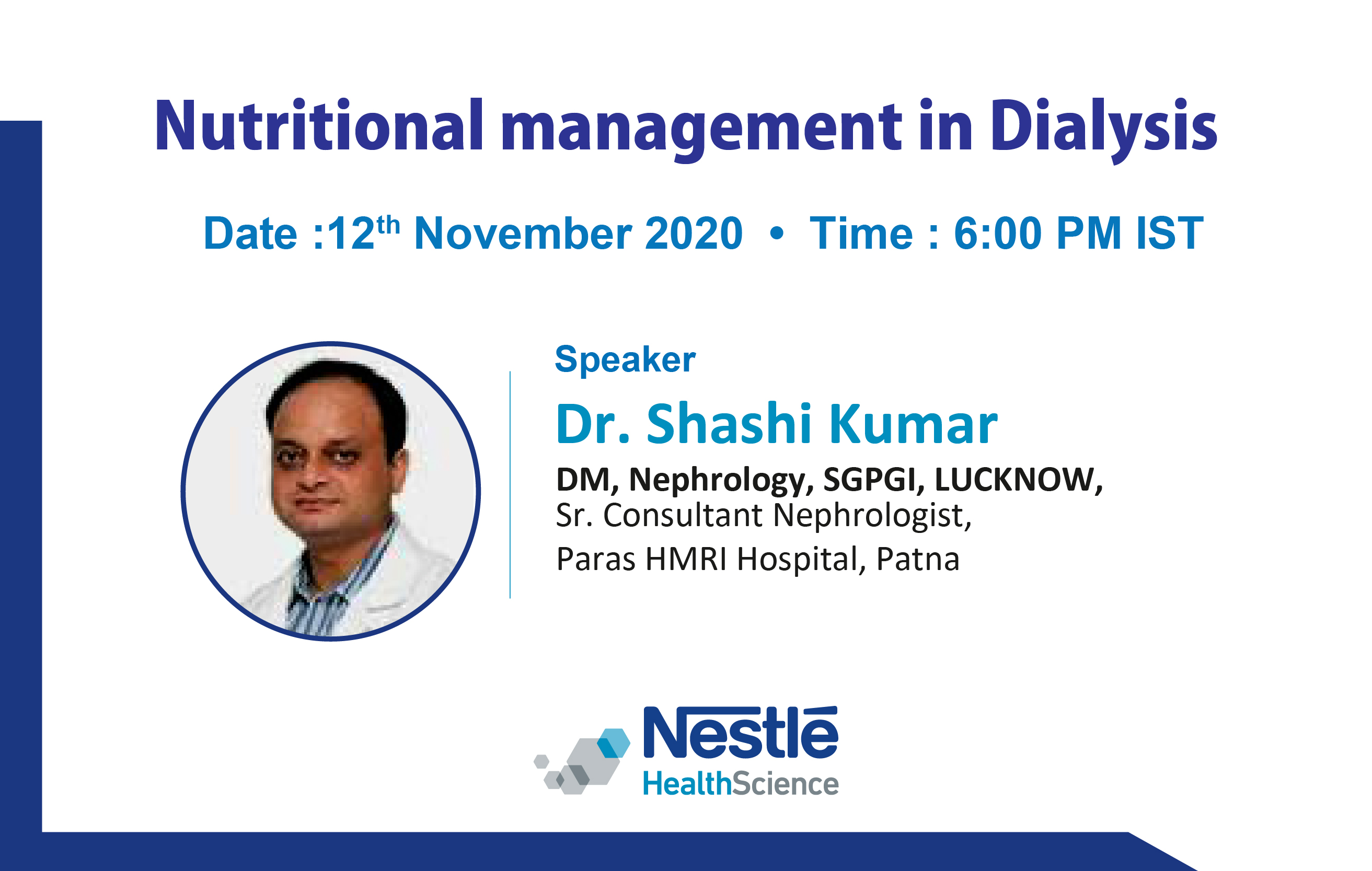 Nutritional management in Dialysis