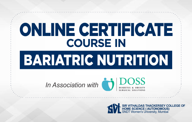 Online Certificate Course in Bariatric Nutrition
