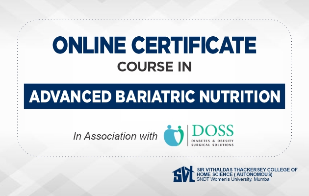 Online Certificate Course in Advanced Bariatric Nutrition