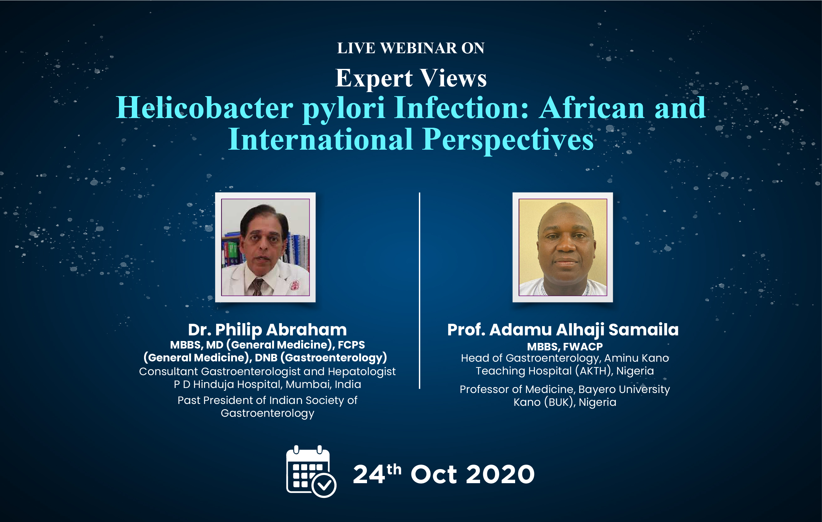 Helicobacter pylori Infection: African and International Perspectives