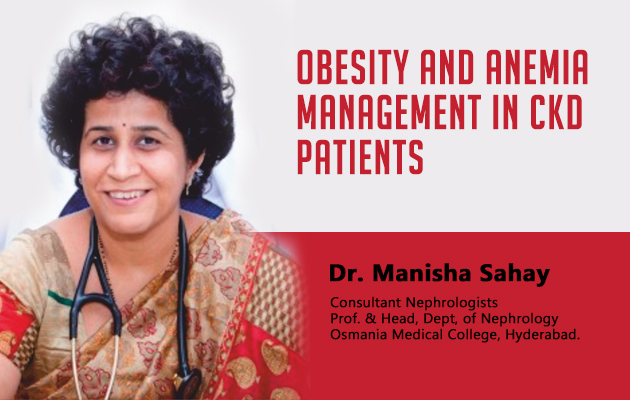 Obesity and Anemia Management in CKD patients