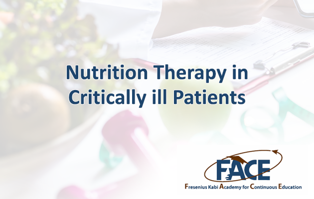 Nutrition Therapy in Critically ill Patients
