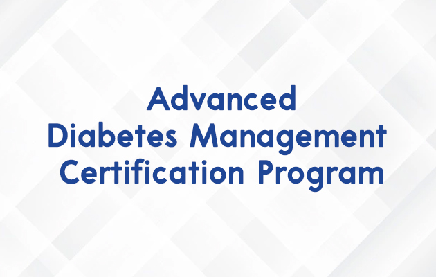 Advanced Diabetes Management Certification Program