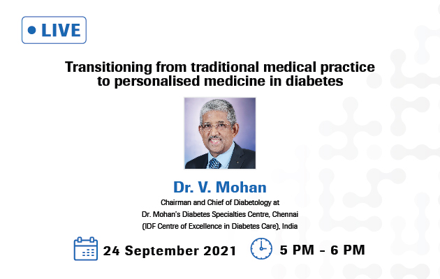 Transitioning from traditional medical practice to personalised medicine in diabetes