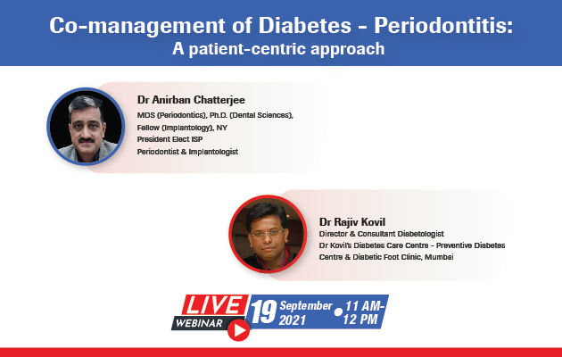 Co-management of Diabetes - Periodontitis: A patient-centric approach