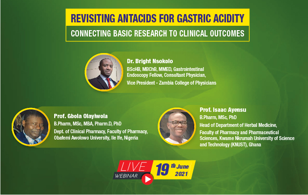 Revisiting Antacids For Gastric Acidity: Connecting Basic Research To Clinical Outcomes