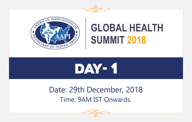 AAPI Global Health Summit 2018 Day 1 Live