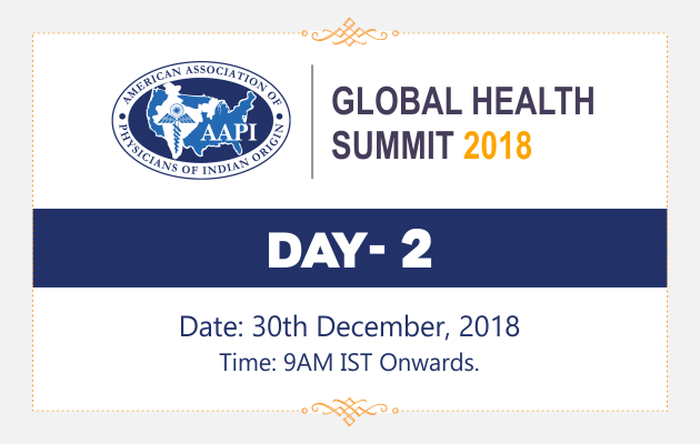 AAPI Global Health Summit 2018 Day 2 Live