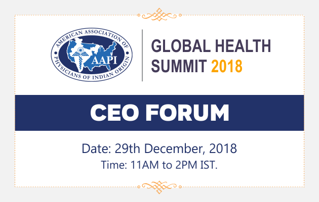 CEO Forum Global Health Summit 2018
