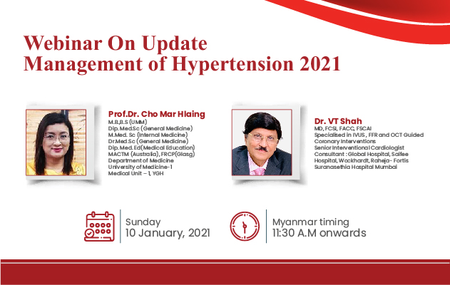 Management of Hypertension 2021